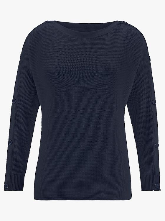 Pullover - marine