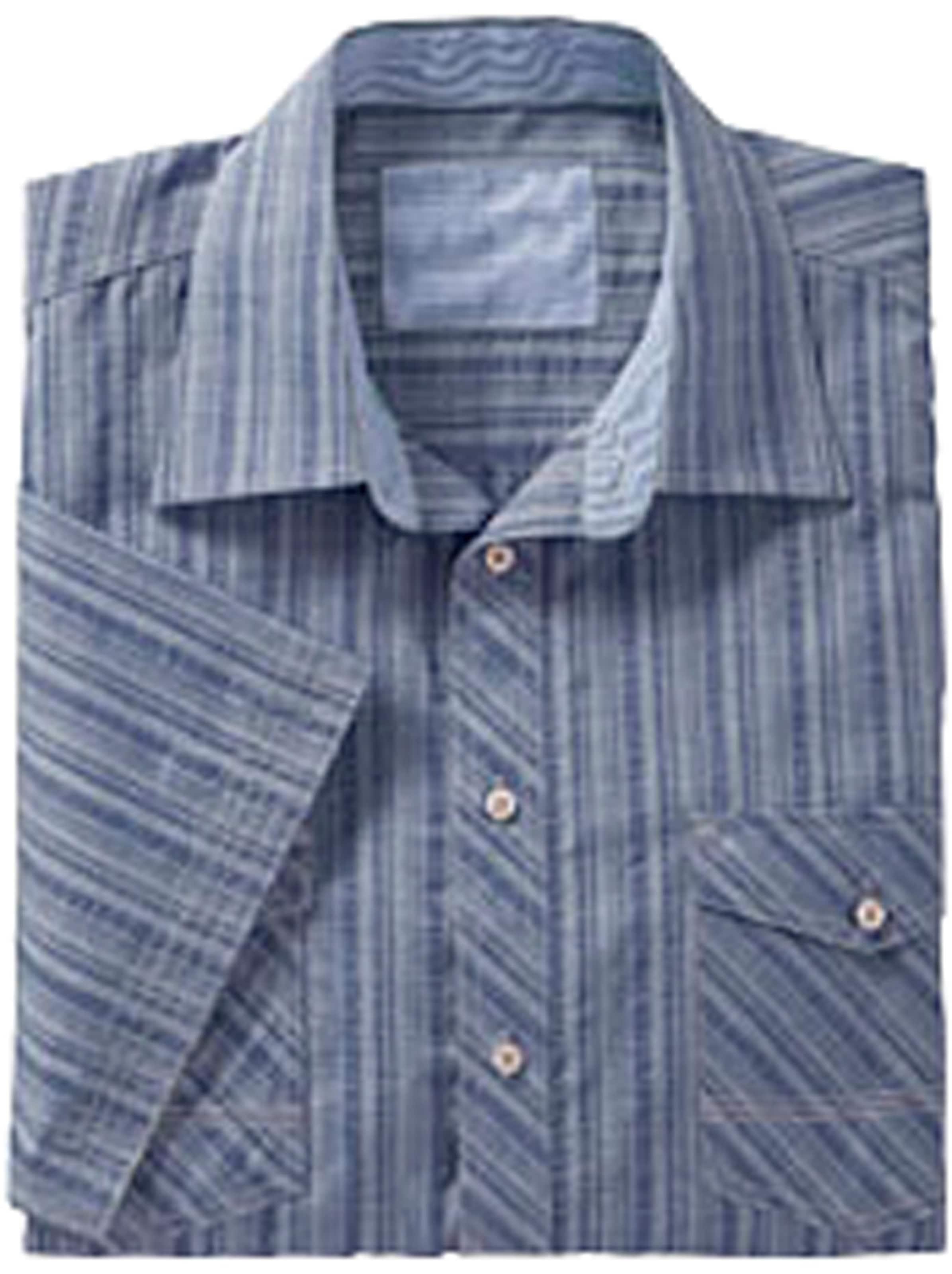 marco donati - Witt Weiden Herren Kurzarm-Hemd blau