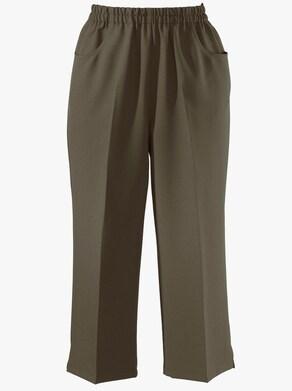 Capri kalhoty - khaki