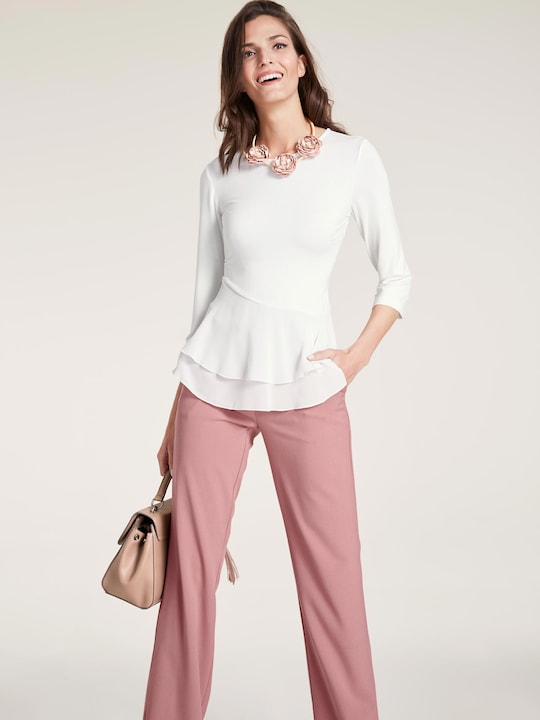 Linea Tesini Shirt - offwhite