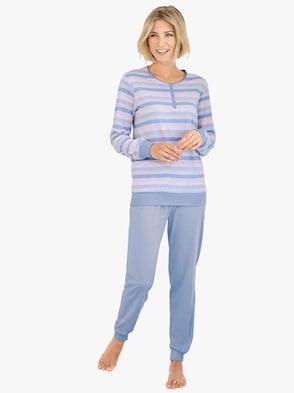 Pyjama - bleu gestreept