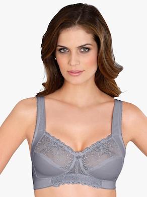 wäschepur BH ohne Bügel - grau