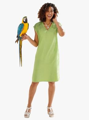 Collection L Kleid - apfelgrün