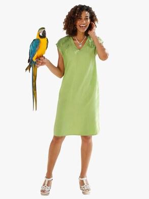 Kleid - apfelgrün