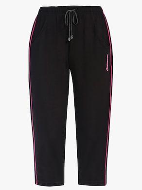 Catamaran Sports Freizeithose - schwarz-pink