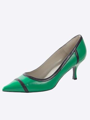 heine Pumps - grün-schwarz