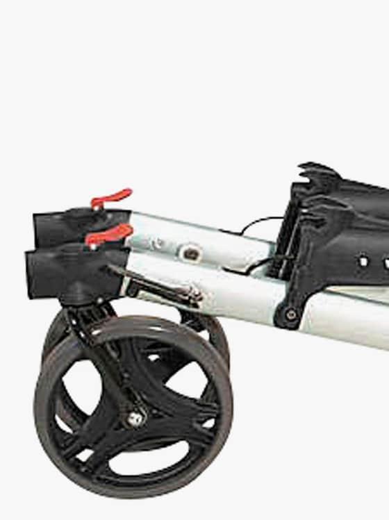Faltbarer Rollator - schwarz