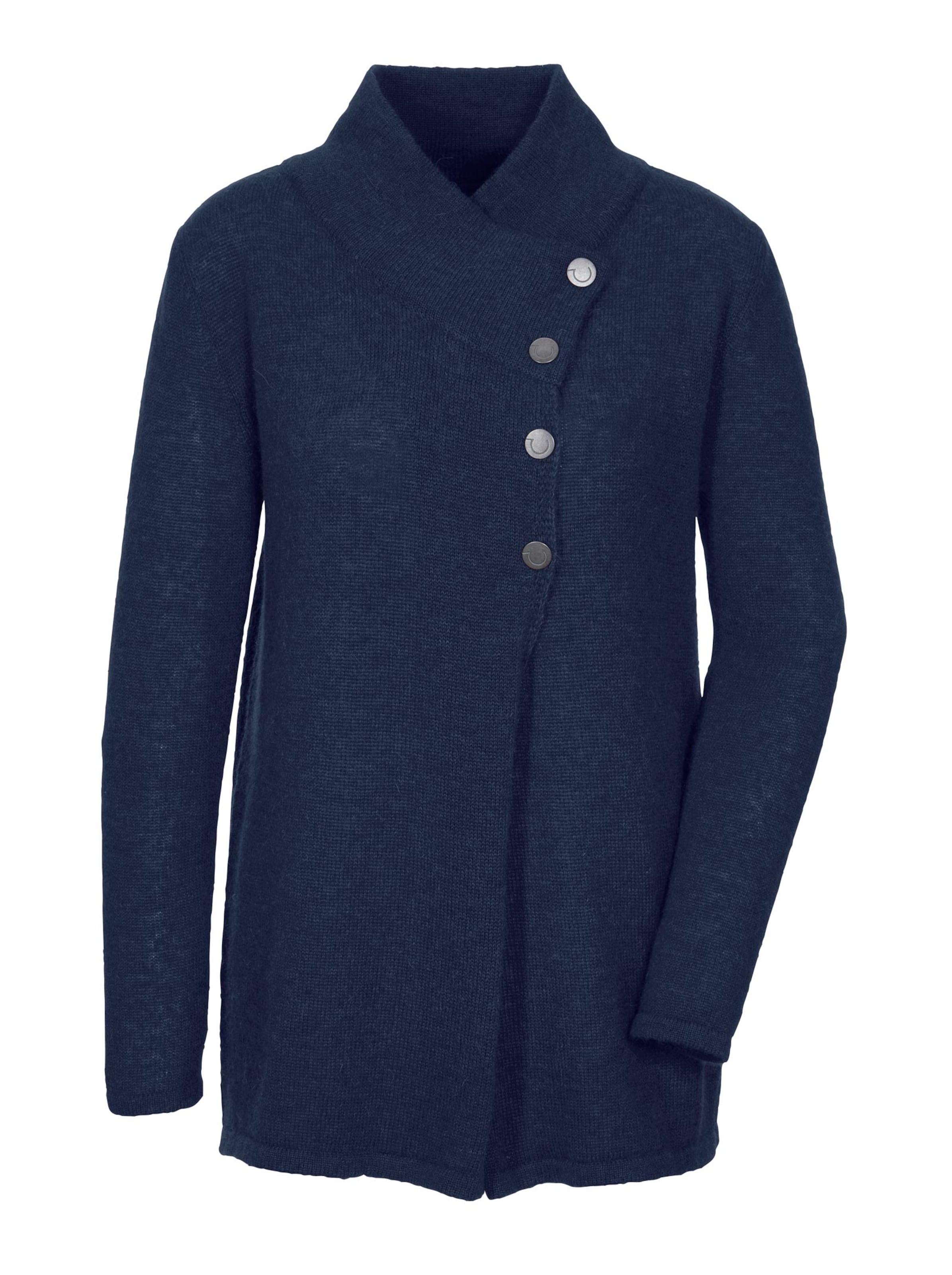 creation l premium - Witt Weiden Damen Woll-Alpaka-Pullover marine
