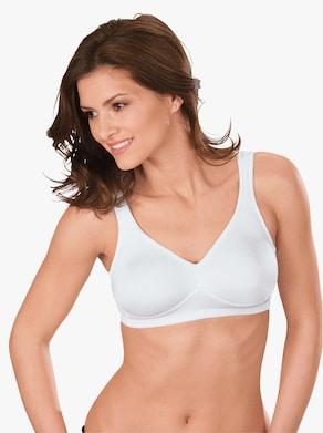 Komfort-BH ohne Bügel - weiß