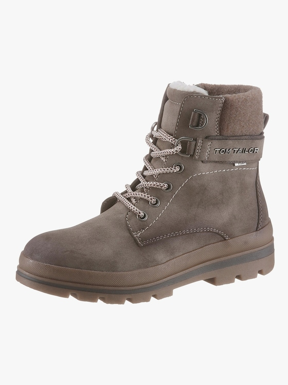 Tom Tailor Stiefelette - taupe