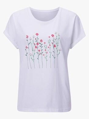 Shirt - weiß-bedruckt