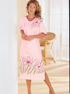Top Ten Nachthemd - rosé-bedruckt