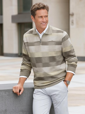 Pullover - rietgroen/kaki