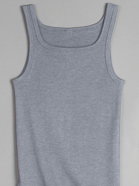 KINGsCLUB Unterhemd - grau-meliert