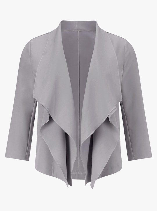 Shirtjacke - grau