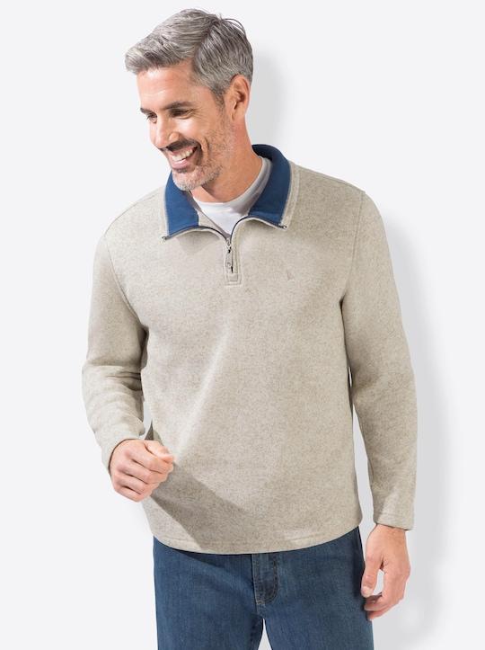 Catamaran Fleece-Shirt - beige
