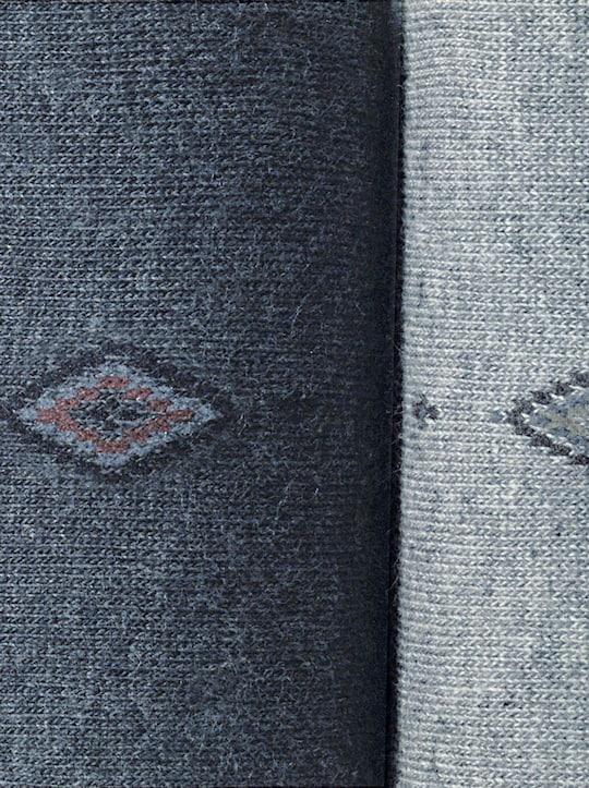 Rogo Herren-Socken - je 1 Paar anthrazit, hellgrau, marine, schilf