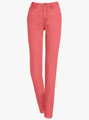 Jeans - korallenrot