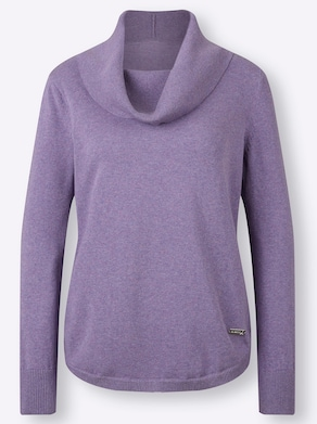 Pullover - lavendel gemêleerd