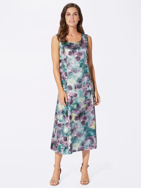 Kleid - khaki-bedruckt