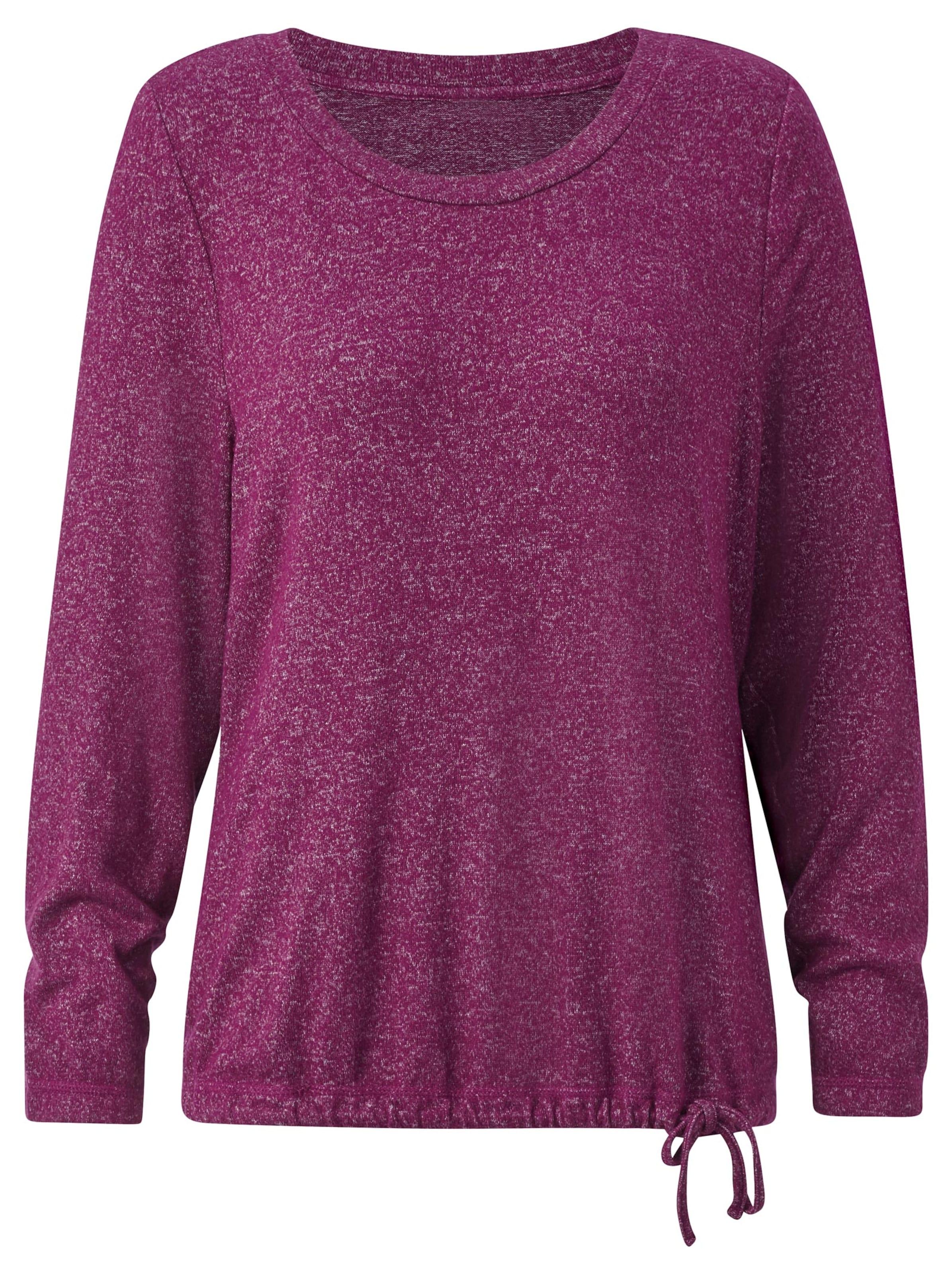 collection l - Witt Weiden Damen Shirt fuchsia-meliert