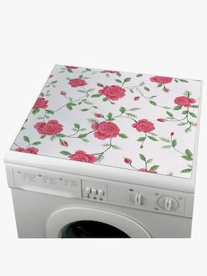 Waschmaschinen-Auflagen - Rose