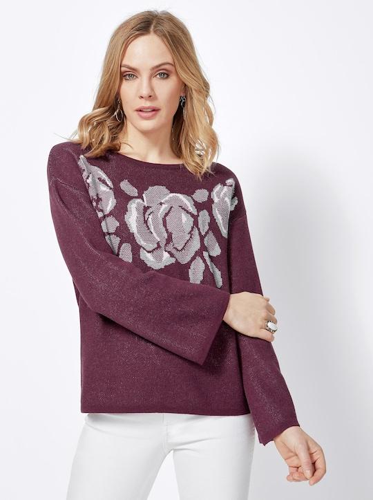 Pullover - burgund