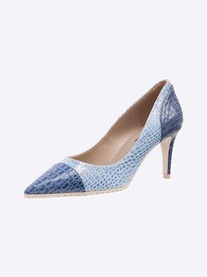 heine Pumps - hellblau-blau