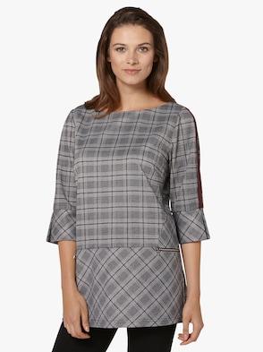 Shirttunika - burgund