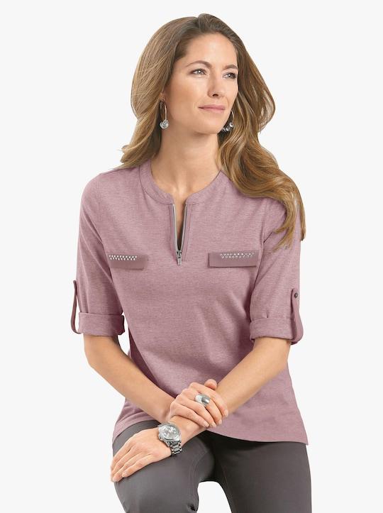 Shirt - roze gemêleerd