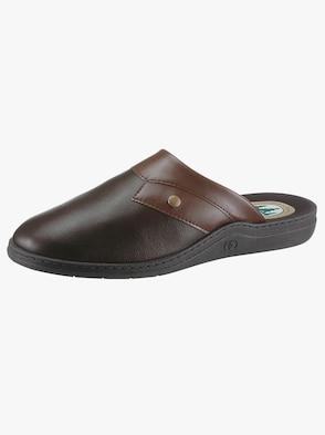 Pantoffel - braun