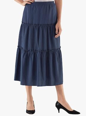 Sukně - námořnická modrá