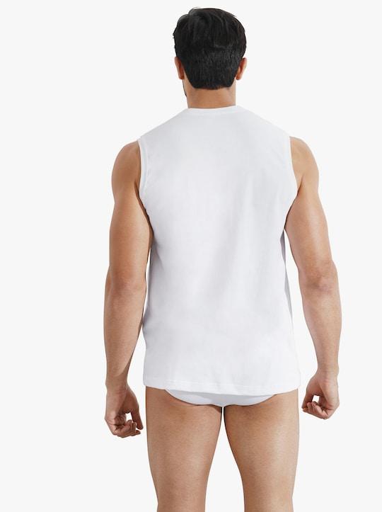 Schiesser Onderhemd - wit