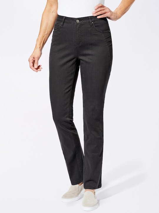 Collection L Jeans - schwarz