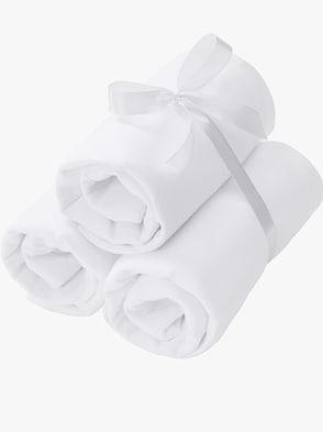 Bustier - 3 Stück weiß