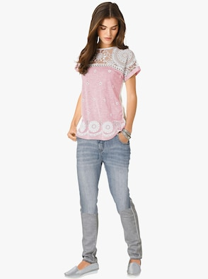 Longshirt - rosé