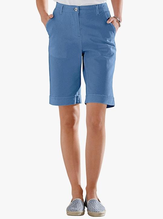 Jeansbermuda - blauw