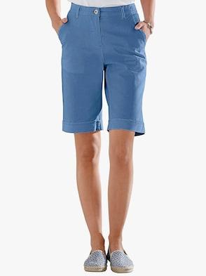 Jeans-Bermudas - blau