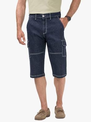 Jeans-Bermudas - dark blue