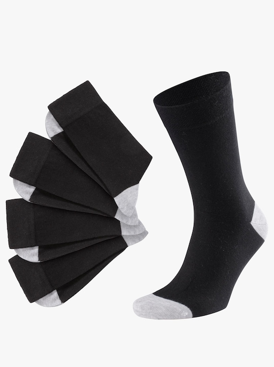 wäschepur Ponožky - černá