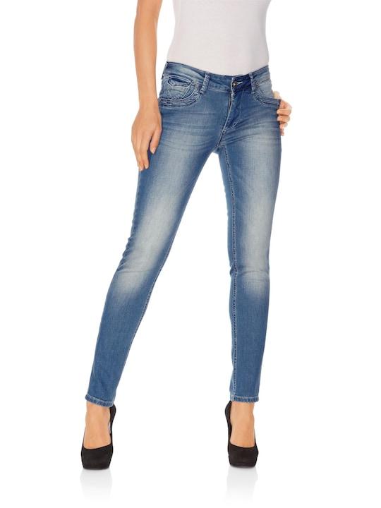 Linea Tesini Bauchweg-Jeans - blue stone
