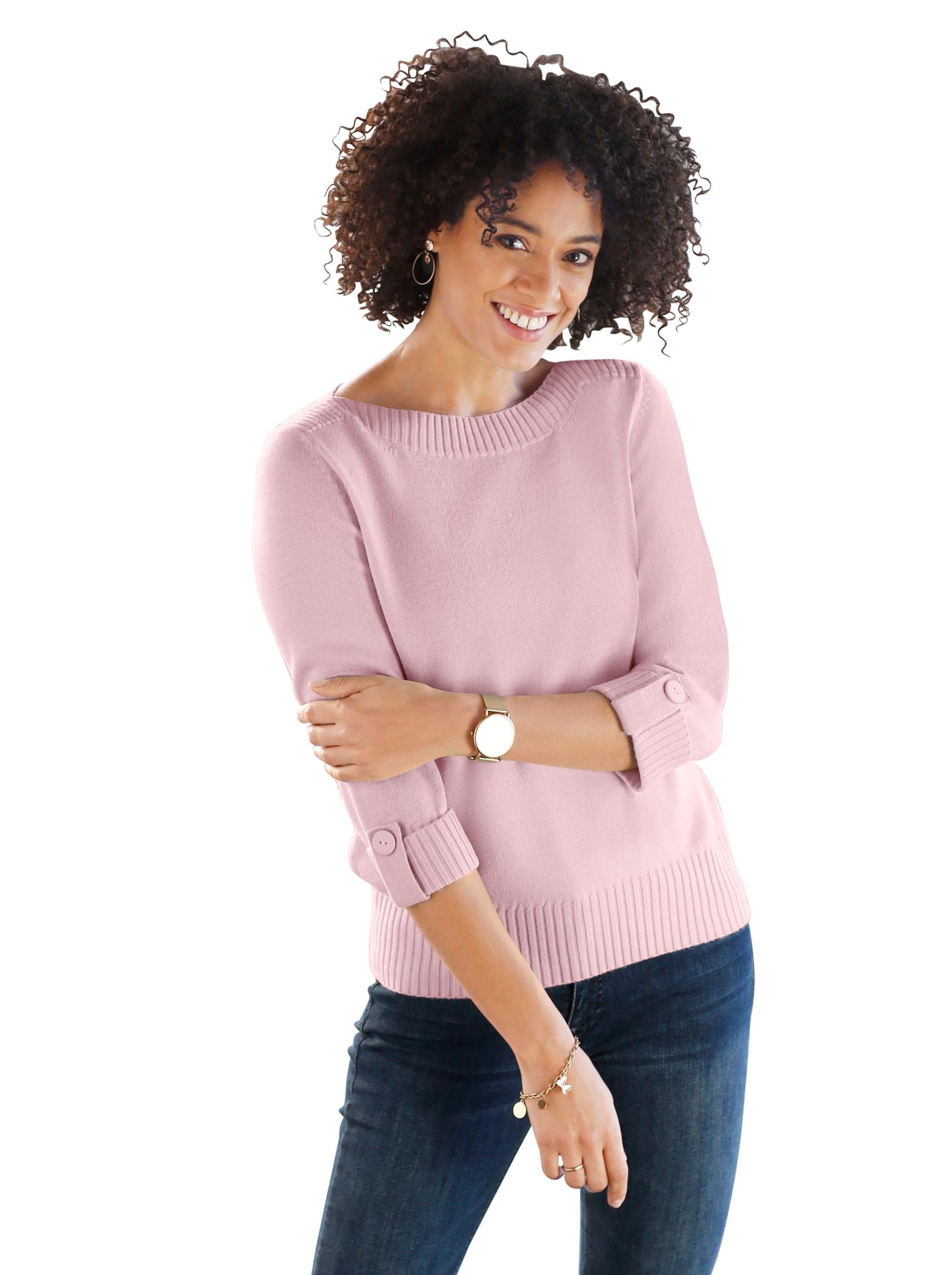 witt weiden -  Damen Pullover rosé