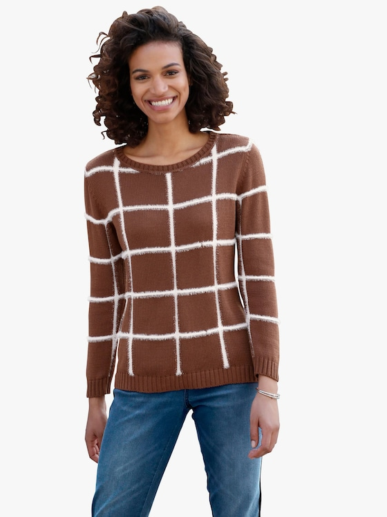 Pullover - kupferfarben