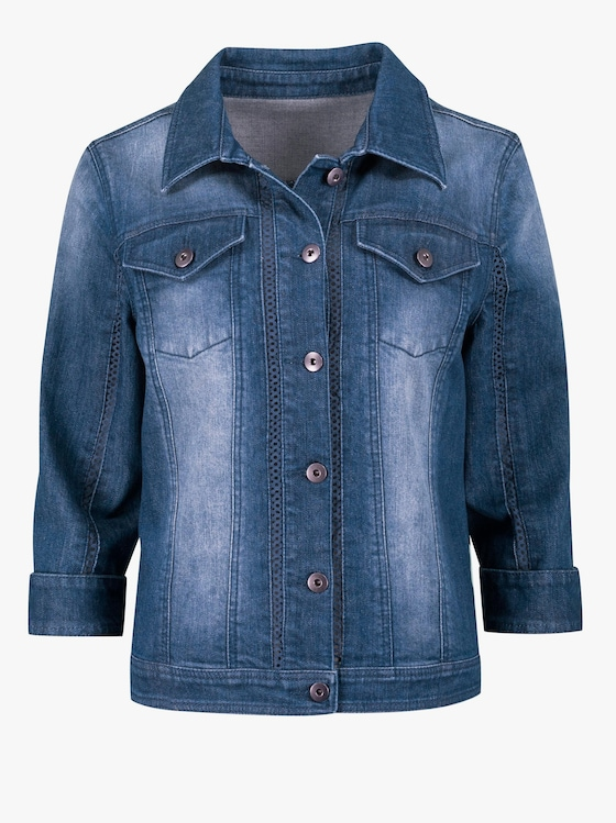 Jeansblazer - jeansblau