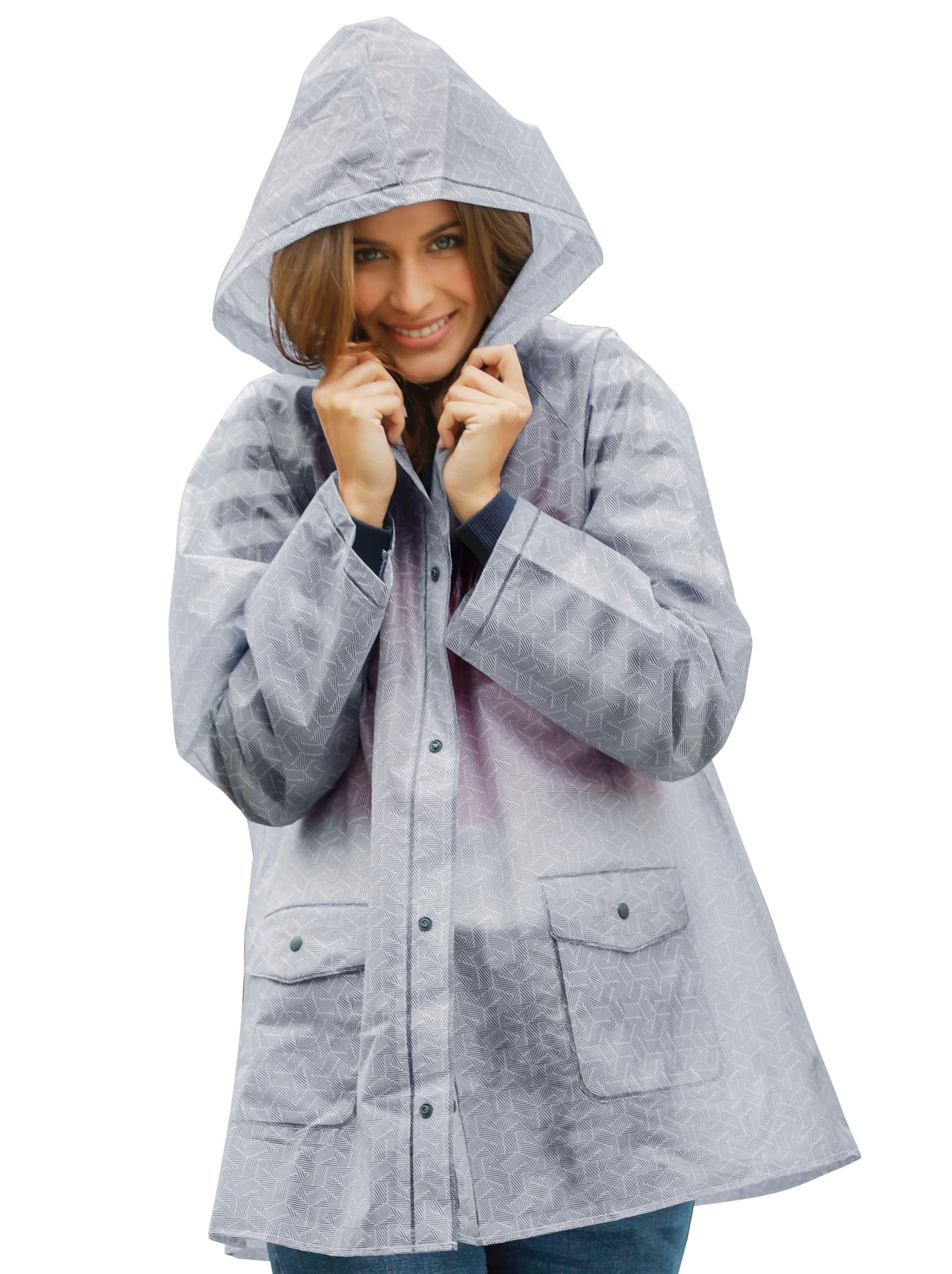 witt weiden -  Damen Regenjacke weiß