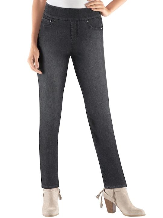 Collection L Jeans - black-denim