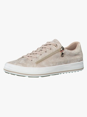 s.Oliver Sneaker - beige-gemustert