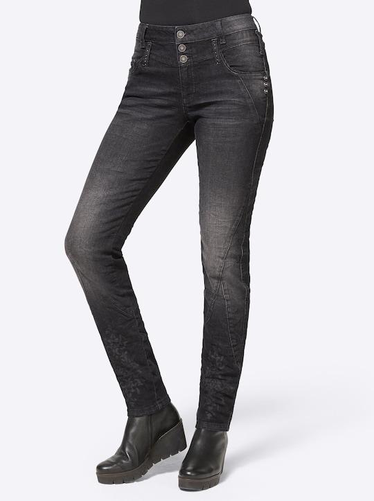 Linea Tesini Jeans - black denim