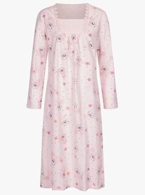 Ascafa Nachthemden - rosé + lind