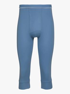 KINGsCLUB Hose 3/4-lang - blau + grau-meliert